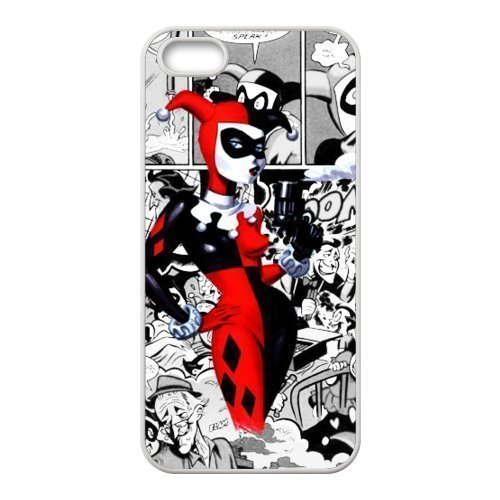 """Caitin Marvel Comics Joker And Harley Quinn Batman Cell Phone Cases Cover for Iphone 6 Plus(5.5"""") at Gotham City Store"""