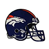 Denver Broncos Helmet Logo Embroidered Iron Patches at Amazon.com