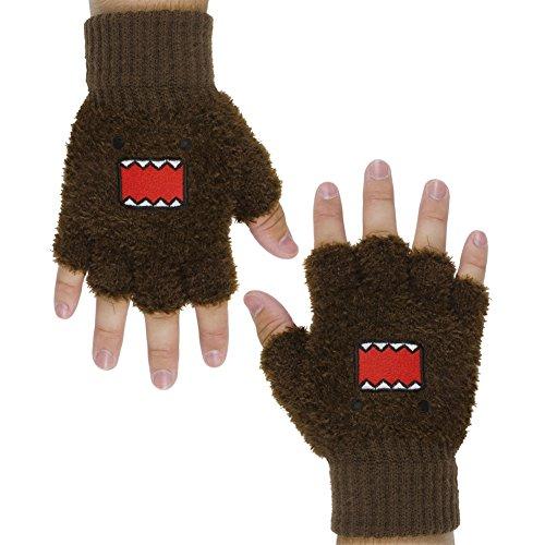 Domo - Face Fingerless Gloves