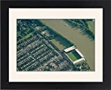 Framed Print of Craven Cottage (Fulham FC) from Blom Group