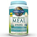 Garden of Life Raw Organic Meal Original 36.6oz (2lb 5oz/1,038g) Powder (Packaging May Vary)