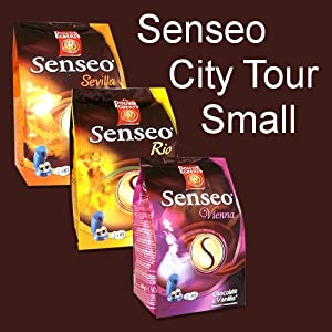 Purchase Senseo Coffee Pods City-Tour Small (Rio de Janeiro, Vienna, Sevilla ) from Senseo