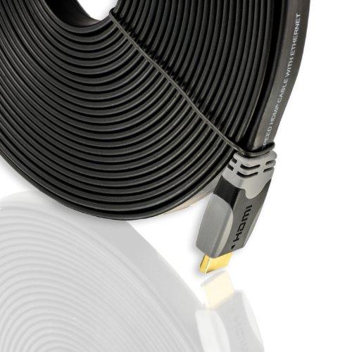 10m meter ultraflaches high end hdmi kabel mit. Black Bedroom Furniture Sets. Home Design Ideas