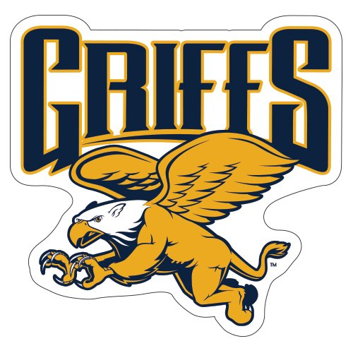 Canisius College Extra Large Magnet 'Official Griffs' back-595906