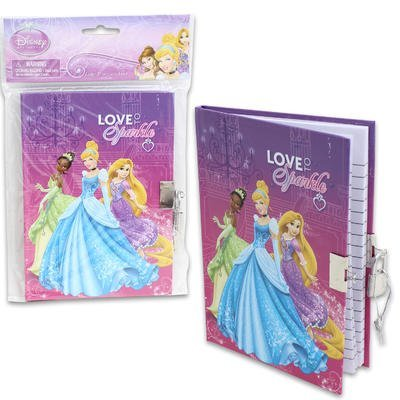 Disney Princess Diary with Lock (45-Sheets)