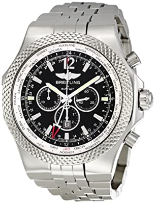 Breitling Men's A4736212/B919SS Bentley GMT Chronograph Watch by Breitling