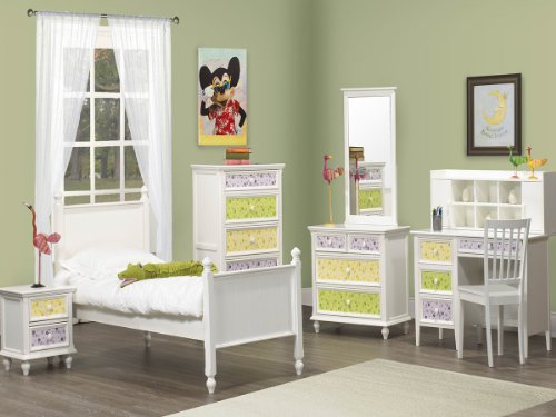 Whimsy Twin Bedroom Set By Home Elegance In White