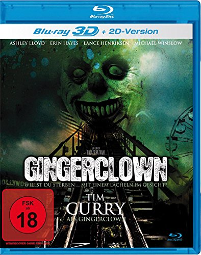 Gingerclown [3D Blu-ray]