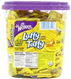 Wonka Laffy TaffyJar, Banana, 145-Count