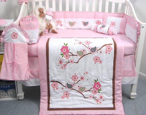 Bird Crib Bedding