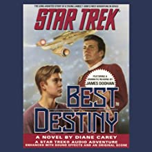 Star Trek: Best Destiny (Adapted)  by Diane Carey Narrated by James Doohan