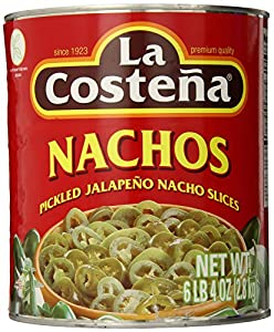 La Costena Jalapeno Nacho, geschnitten, 1er Pack (1 x 2.8 kg)