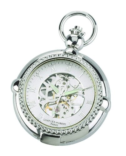 Charles-hubert, Paris Charles Hubert 3847 Mechanical Picture Frame Pocket Watch