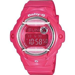 Black Baby G Pink Digital Dial