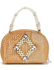 Stylocus Handbag (Gold) (st_e_1345)