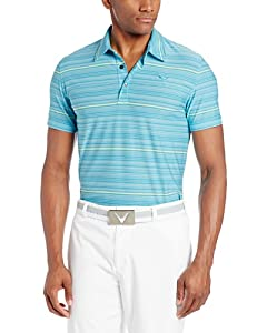 Puma Golf NA Mens YD Multi Stripe Polo Shirt by PUMA