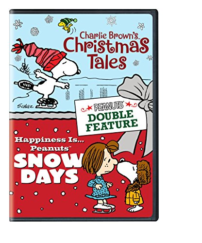 DVD : Peanuts Double Feature: Charlie Brown's Christmas Tales / Happiness Is...Peanuts: Snow Days (DVD)