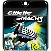 10-Pack Gillette Mach3 Men's Razor Blade Refills