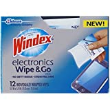Windex Electronics Wipe and Go 12 Count