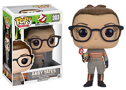 Funko Pop Movies - Ghostbusters 2016: Abby Yates Vinyl Collectible Action Figure PRS