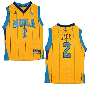 NBA NEW ORLEANS HORNETS JACK #2 Youth Pro Quality Athletic Jersey Top by NBA
