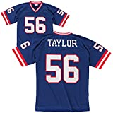 New York Giants Mitchell & Ness 1986 Lawrence Taylor #56 Replica Throwback Jersey