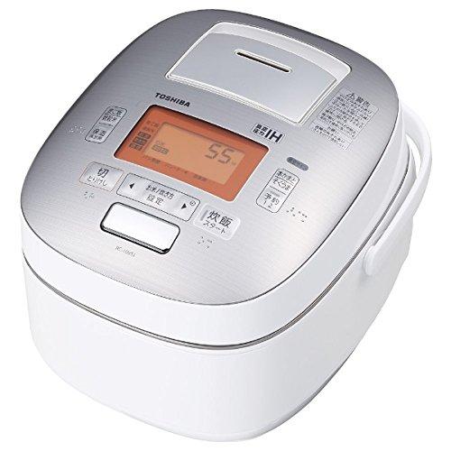 東芝 真空圧力IHジャー炊飯器(5.5合炊き) グランホワイトTOSHIBA 真空圧力かまど炊き(真空圧力IH保温釜) RC-10VSJ-W