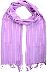 Sahiba Creation trendy and colourful women stole for all time wear(lavender)