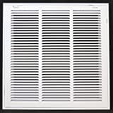 "18"" x 18"" RETURN FILTER GRILLE - Easy Air FLow - Flat Stamped Face"