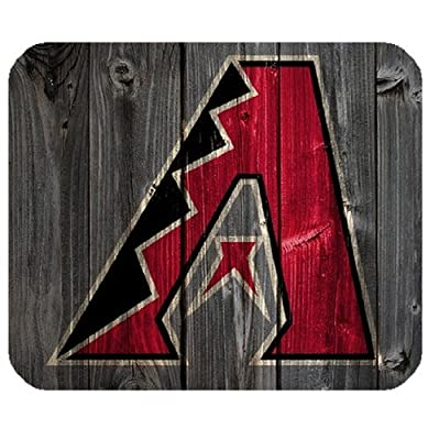 Computer Mice Arizona Diamondbacks Logo Square Mousepads