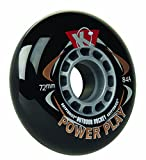 Kryptonics Powerplay Wheel (Black, 72mm/84A)