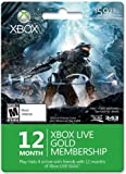 Xbox Live 12 Month Gold for Halo 4 [Online Game Code]