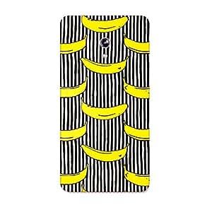 Urban Monk Banana Pattern Mobile Back Cover for Moto X Style [Matte Finish]