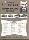 img - for Sams Photofact Auto Radio Series AR-23 March 1964 book / textbook / text book