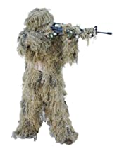 Kids Army Desert Camo Ghillie Suit - L Fits 10-12 Years
