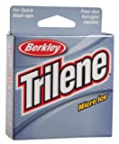 Berkley Trilene Micro Ice Fishing Line 110 Yd Spool(6-Pound,Clear Steel)