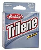 Berkley Trilene Micro Ice Fishing Line 110 Yd Spool(8-Pound,Clear Steel)