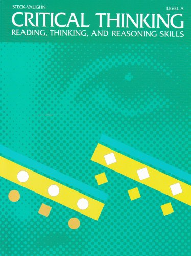 Critical Thinking: Student Edition Grade 1, Level A