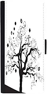 Snoogg Abstract Illustration Of A Tree With Lots Of Leaves Designer Protective Phone Flip Case Cover For Obi Worldphone Sf1