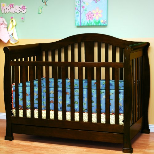 ikea baby cribs convertible baby crib with drawer in espresso finish from afg. Black Bedroom Furniture Sets. Home Design Ideas