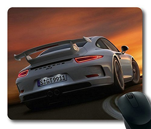 Popular-Mouse-Pad-with-porsche-911-gt3-auto-car-cars-turn-Non-Slip-Neoprene-Rubber-Standard-Size-9-Inch220mm-X-7-Inch180mm-X-18-Inch3mm-Mousepads