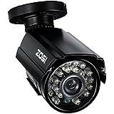 ZOSI 防犯カメラ 監視カメラ 高画質  52万画素  防水防塵  屋内外設置  赤外線24個LED  昼夜間撮影自動切替  ナイトビジョン  広角レンズ搭載  1/3CMOSセンサー  単品