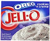 Kraft Jello Instant Oreo Cookies and Cream Dessert 119 g (Pack of 4)