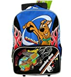 Mystery Machine Scooby Doo Rolliong Backpack- Racing