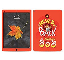 Theskinmantra Never Look Back SKIN/STICKER/VINYL for Apple Ipad Pro Tablet 12.9 inch