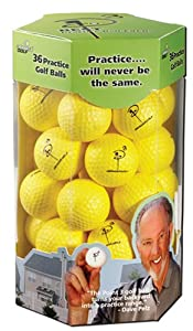 Almost Golf White Balls 36 Training Aid Dave Pelz AlmostGolf by Almost