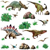 RoomMates RMK1882SCS Dinosaur Peel and Stick Wall Decal