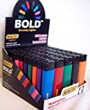 WINLITE BOLD Everyday Lighter - 8 Assorted Colors - (50 Count Display)