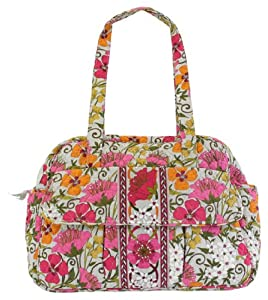 vera bradley baby bag in tea garden diaper tote bags baby. Black Bedroom Furniture Sets. Home Design Ideas