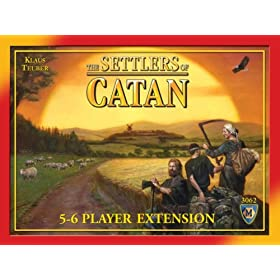 Settlers of Catan 5-6 player expansion!